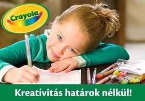 CRAYOLA – Kreativitás határok nélkül