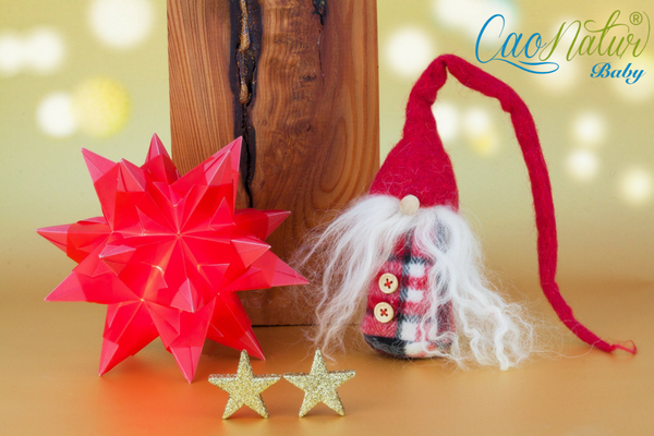 Készítsetek Mikulást vagy karácsonyi díszeket!